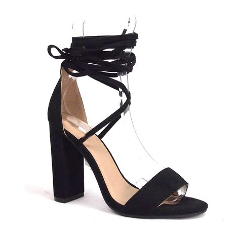 Sandals Around Ankle by Block High Heel Stilettos Lace Up Around Ankle Sandals Shoes Ebay