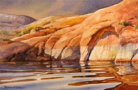 watercolor tutorial painting water how to paint water reflections watercolor painting step
