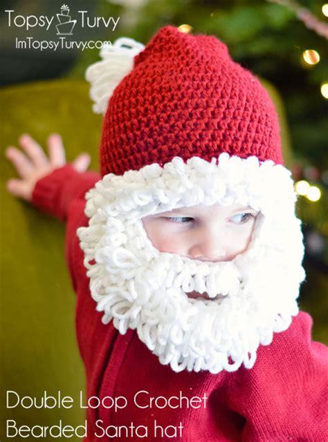 free crochet santa hat for children crochet sets for baby free pattern beesdiy