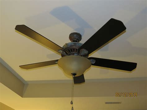 Build A Ceiling Fan by Hometalk Diy Ceiling Fan Makeover With Modern Masters Paint