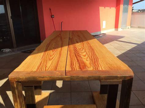 tavoli artigianali in legno realizzazione tavoli su misura in legno bergamo
