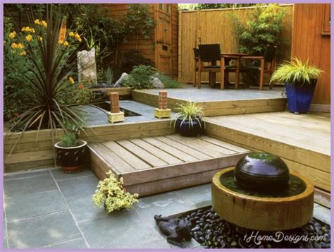 Decking Ideas Small Gardens 10 Decking Design Ideas For Small Gardens 1homedesigns