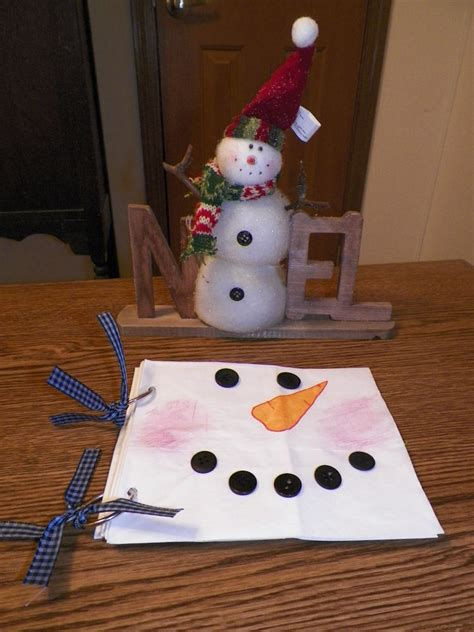Paper Bag Snowman Craft - snowman paper bag scrapbook think crafts by createforless