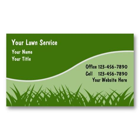 business card lawn mower templates lawn business cards lawn business cards and business