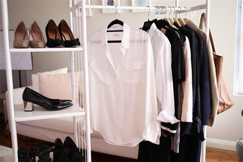 how to build a minimalist wardrobe how to build a work wardrobe from scratch mademoiselle