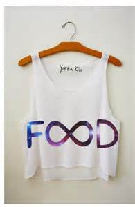 Infinity Shirts Galaxy Food Infinity Shirt Mtranlv81