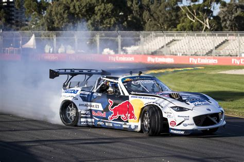mad mike motocross mad mike s melbourne drift leaves daniel ricciardo in a