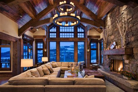mountain home decorating log cabin interior design 47 cabin decor ideas