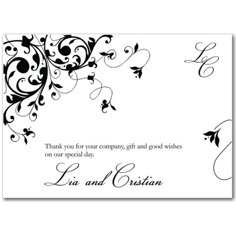 Wedding Reception Thank You Card Template by Card Invitation Ideas Free Wedding Invitations And Thank