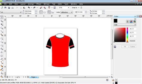 cara membuat desain jersey basket dengan coreldraw tips jitu membuat desain seragam bola