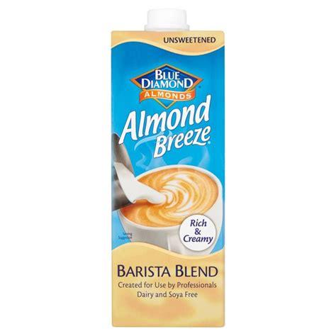 Almond Milk 1l almond barista almond milk 1l from ocado