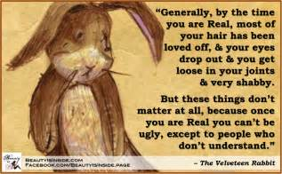 velveteen rabbit quotes and cards quotesgram