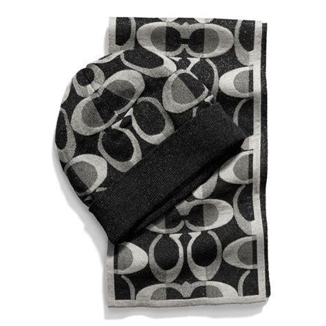 snap n zip fashion accessories coach boxed scarf and