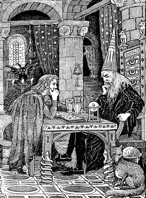 """""""Old English Fairy Tales"""" (1895) with illustration by F.D"""