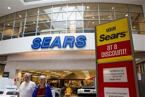 review of sears outlet store in melrose park the sign