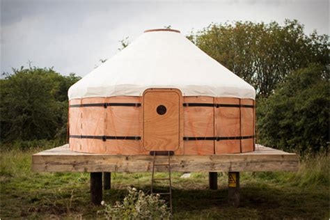 wooden tent wooden tent inspired by a traditional yurt dzine trip