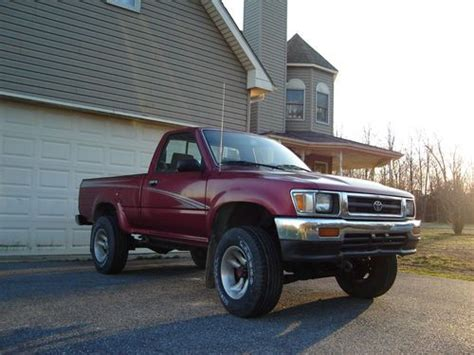 94 Toyota Tacoma Purchase New 94 Toyota 4x4 Truck 22re Manual Trans Like
