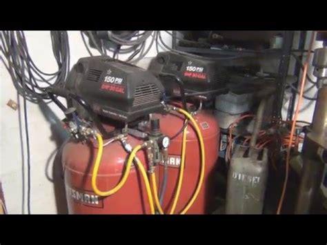 craftsman duplex air compressor
