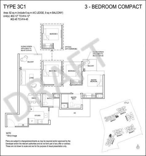 21 angullia park floor plan grandeur park residences tanah merah condo price floor plan