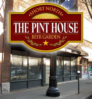 pint house columbus the pint house beer garden coming to the short north