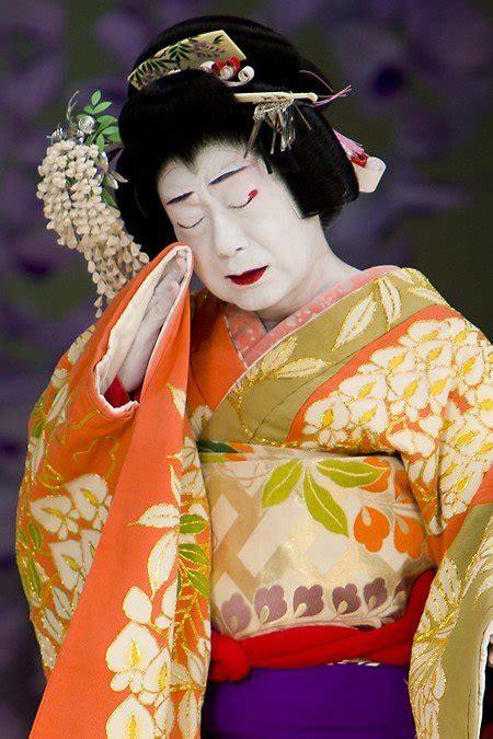 Kimono Maskara sewamono kabuki search makeup