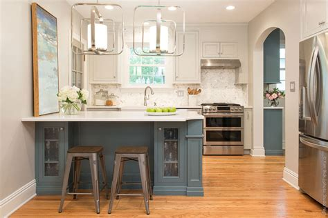 small kitchen remodel with island before after small kitchen remodel karr bick kitchen bath