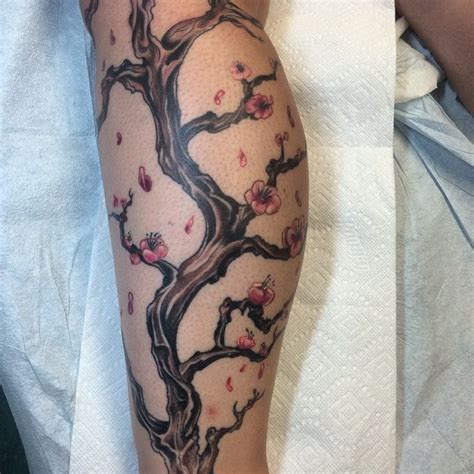 150 cherry blossom tattoos and meanings april 2018