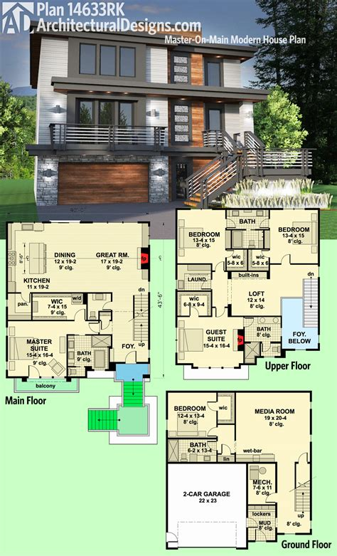 simple architectural house plans plan 18267be simply simple one story bungalow architectural luxamcc