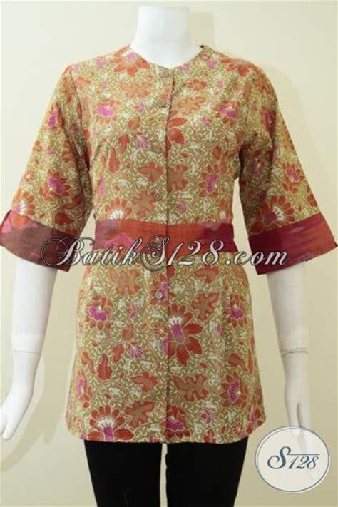 Baju Bola Untuk Wanita baju batik murah untuk seragam kantor batik wanita bls1276p s toko batik 2018