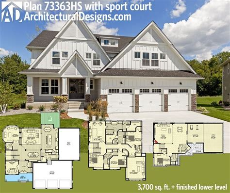 House Plans With Basements Plan 73363hs Stunning Exclusive Craftsman With Optional