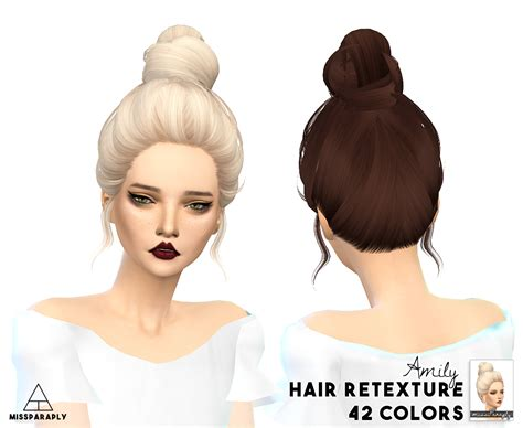 sims 4 cc hair my sims 4 blog skysims hair retexture by missparaply