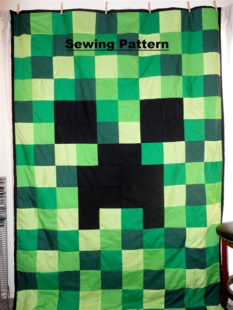 quilt pattern to make creeper quilt by