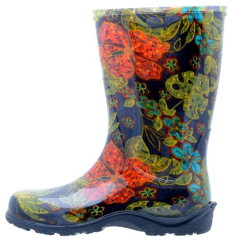 comfort rain boots sloggers women s rain and garden boot with quot all day