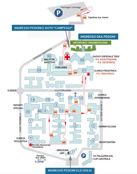 ortopedia san matteo pavia dipartimenti e unit 224 operative policlinico san matteo