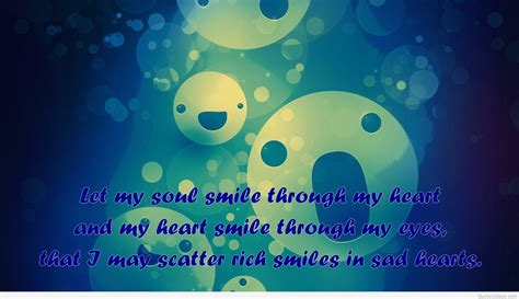 wallpaper smile quote