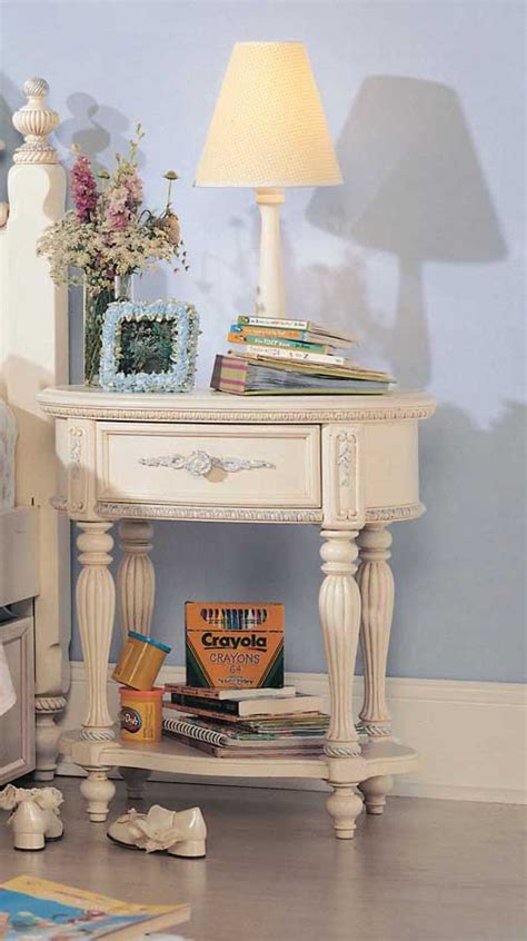 lea jessica mcclintock vintage panel bedroom collection jessica mcclintock romance oval nightstand furniture