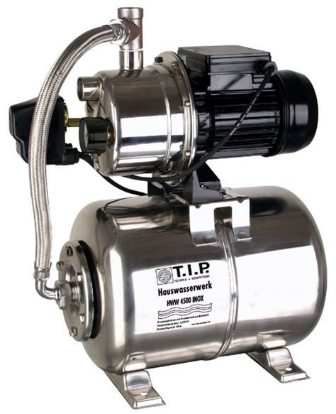 Einhell Hauswasserwerk Druckschalter Einstellen by T I P 31140 Hauswasserwerk Hww 4500 Inox Test