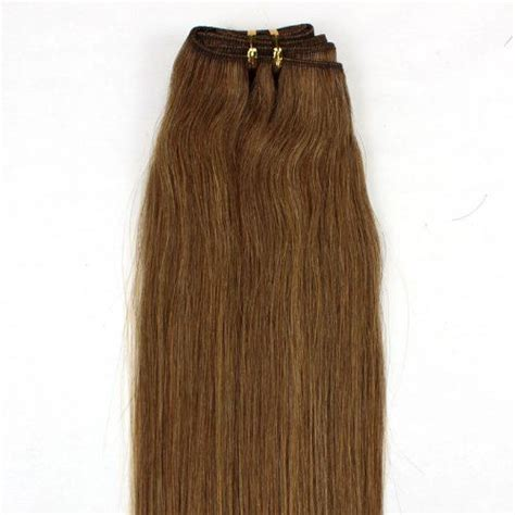 Medium Chocolate Brown Hair Extensions Remy Indian Hair 16 80g Indian Remy Weft Human Hair Extensions 12 Light Brown By Martonline 51 00 Can