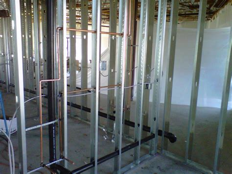 Top Out Plumbing by San Diego Plumber Recent Projectspeet S Coffee Westfiled