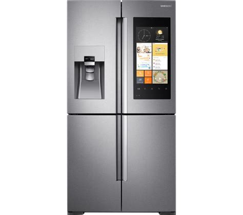 samsung fridge buy samsung family hub rf56k9540sr american style smart fridge freezer stainless steel free