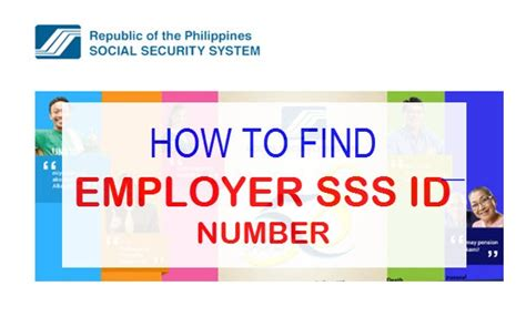 How Find How To Find Sss Employer Id Number Sss Registration Isensey