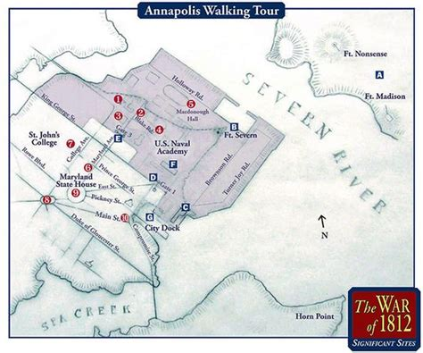 edgewater maryland map walking tour war and war of 1812 on