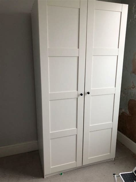 Wardrobes Ikea by Ikea Wardrobe Pax White Bergsbo White In Hove East
