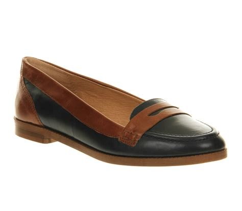 navy leather loafers womens womens office educated loafer navy leather flats