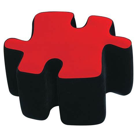 puzzle piece ottoman puzzotto ottoman accessory puzzlewarehouse com