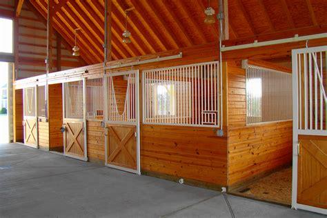stall de stables horses children interior stables barns