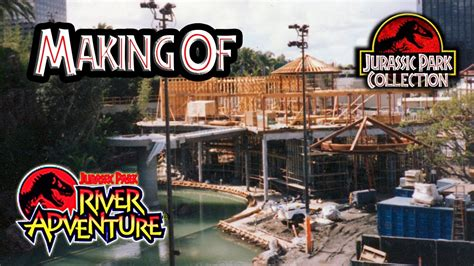 adventures in the construction world a house built out of making of jurassic park the ride youtube