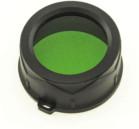 Jetbeam Filter jetbeam mfg38 green filter 1 50 inches fits jetbeam ddc25 ddr26 tr20 ts20 flashlights