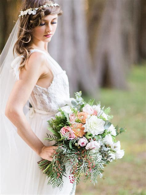 enchanted forest ethereal autumn wedding inspiration chic vintage brides chic vintage brides