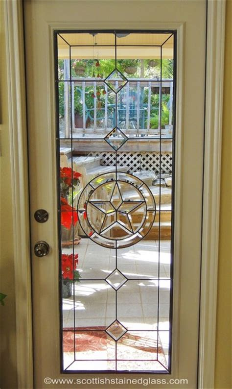 stained glass patio door contemporary patio